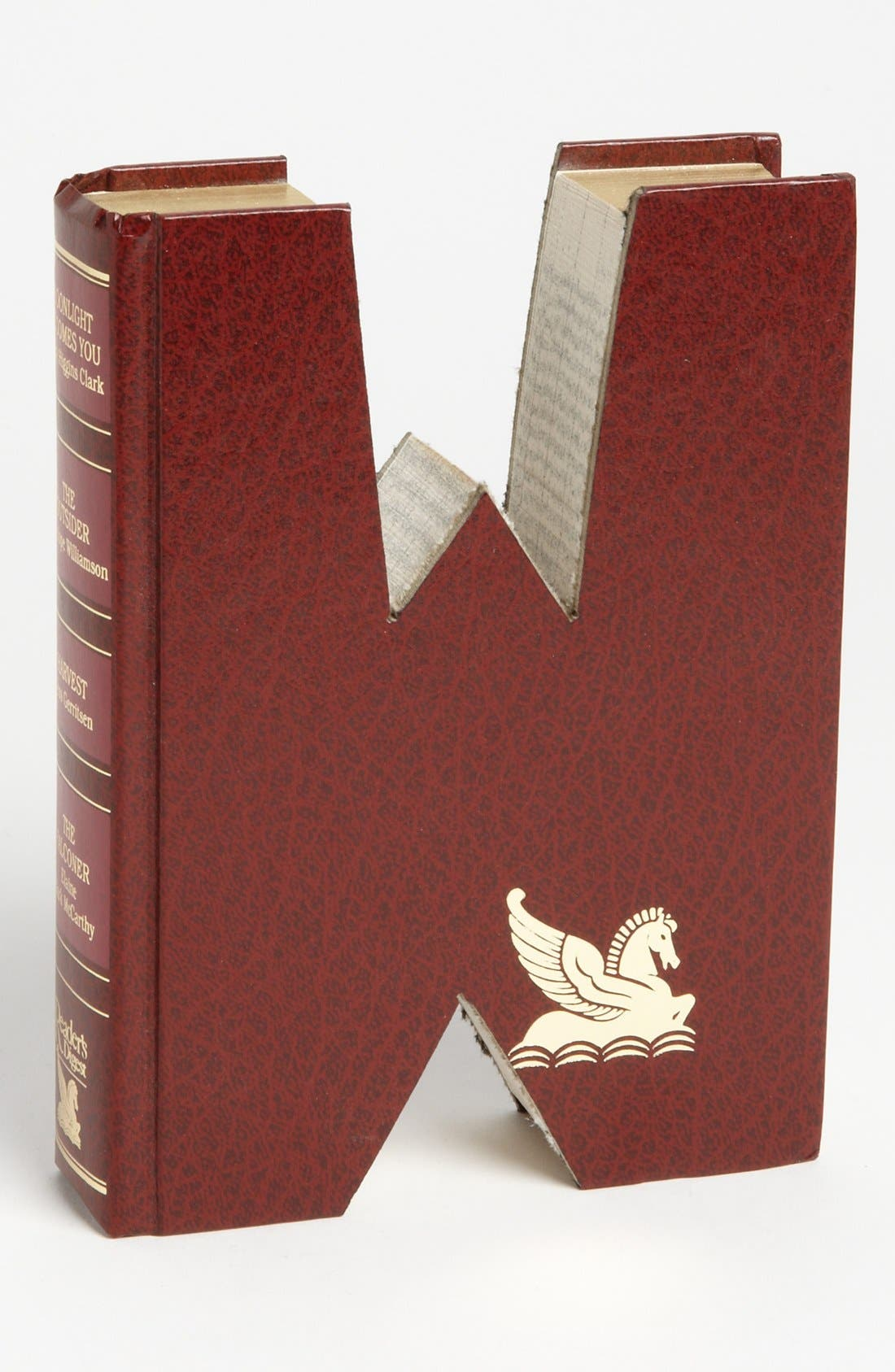 ,                             'One of a Kind Letter' Hand-Carved Recycled Book Shelf Art,                             Main thumbnail 131, color,                             236