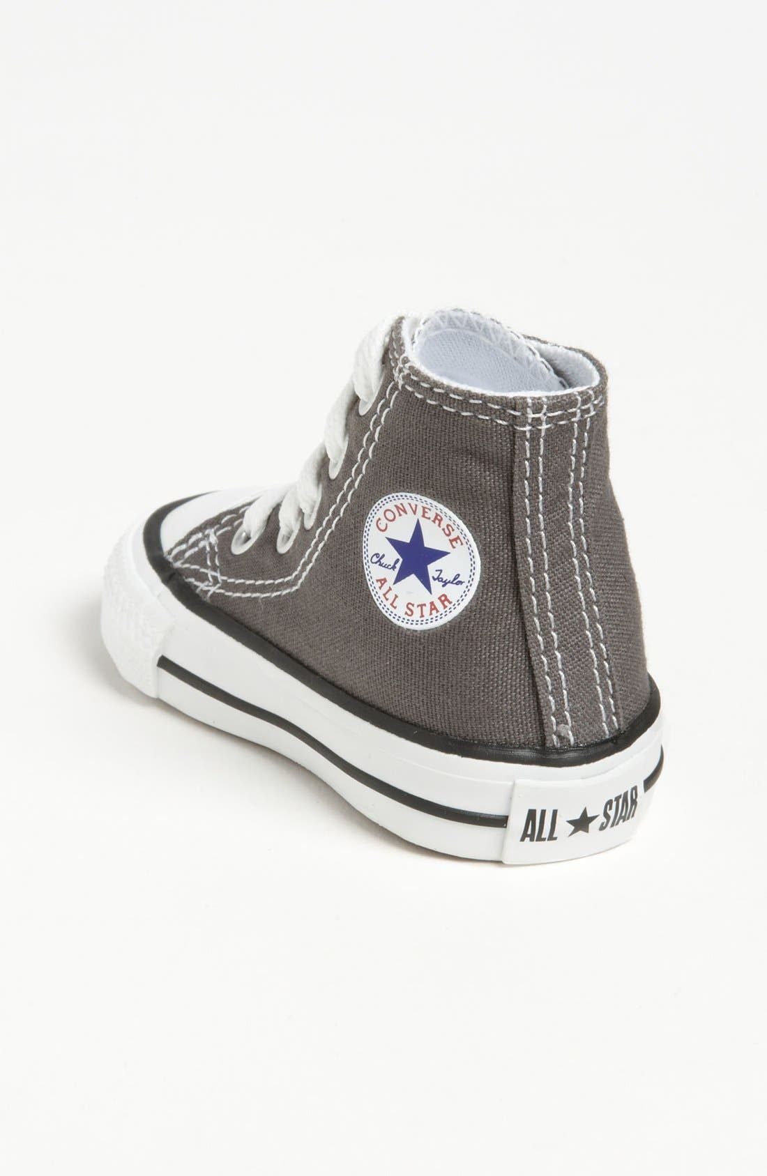 ,                             All Star<sup>®</sup> High Top Sneaker,                             Alternate thumbnail 4, color,                             CHARCOAL