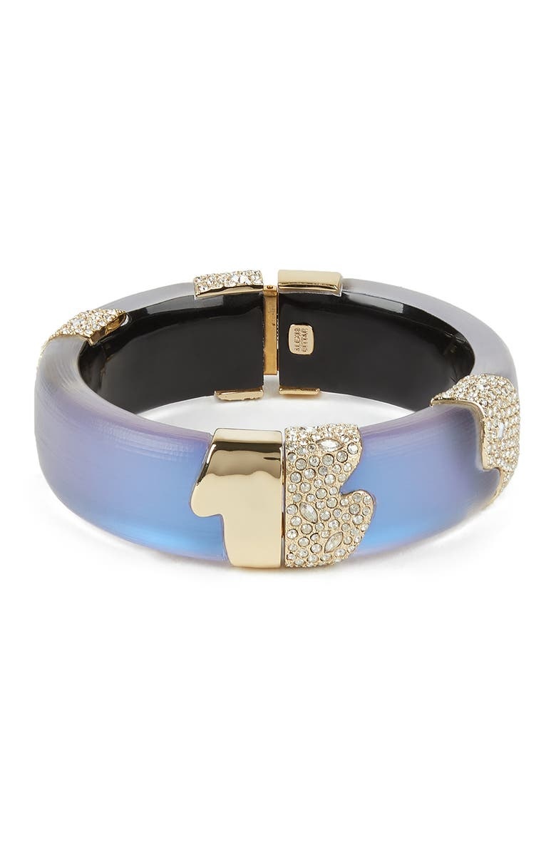 ALEXIS BITTAR Crystal Encrusted Sectioned Bracelet, Main, color, 400