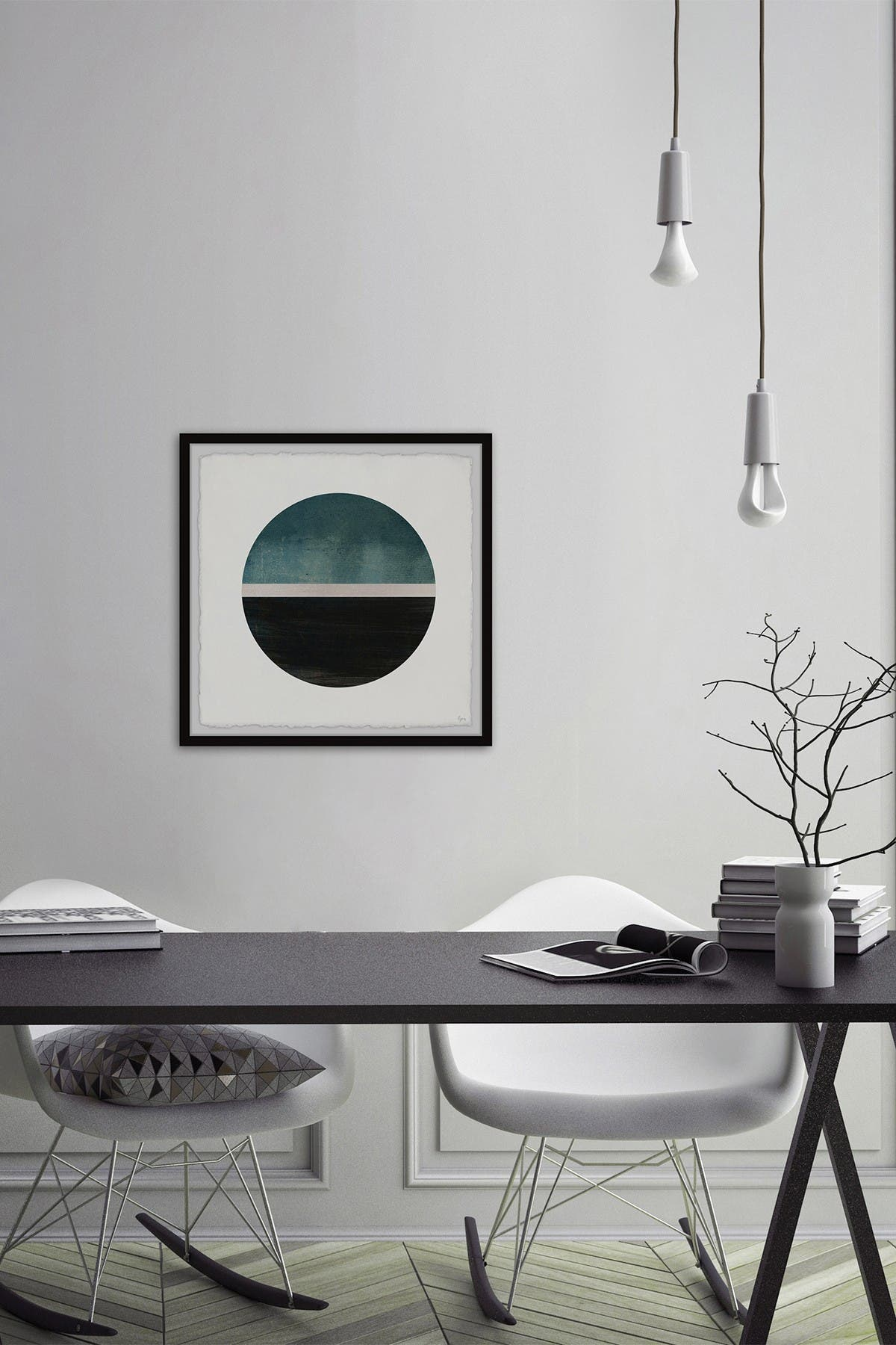 """Image of Marmont Hill Inc. Beyond Boundaries Framed Painting Print - 32""""x32"""""""