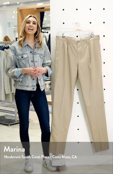 M2 Classic Fit Pleated Vintage Twill Pants, sales video thumbnail
