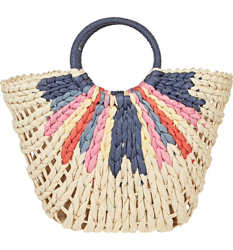 High Summer Straw Tote by Billabong