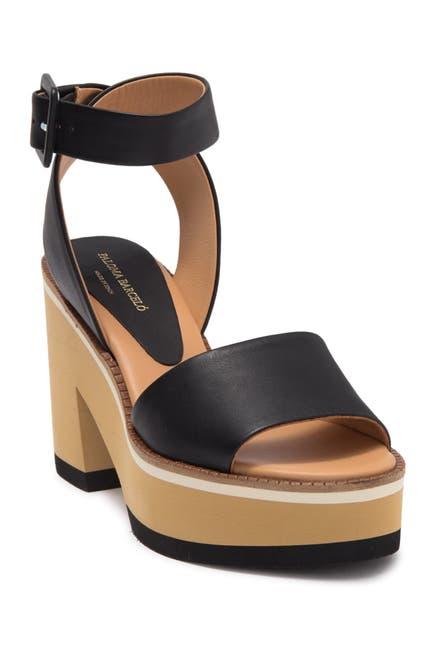 Image of Paloma Barcelo Faiana Block Heel Platform Sandal