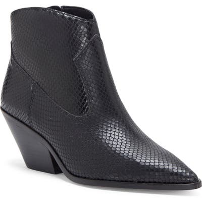Vince Camuto Jemeila Snake Embossed Bootie
