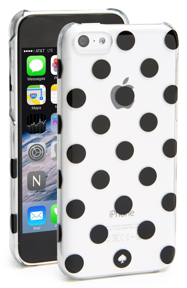 KATE SPADE NEW YORK 'la pavillion' iPhone 5c case, Main, color, 001