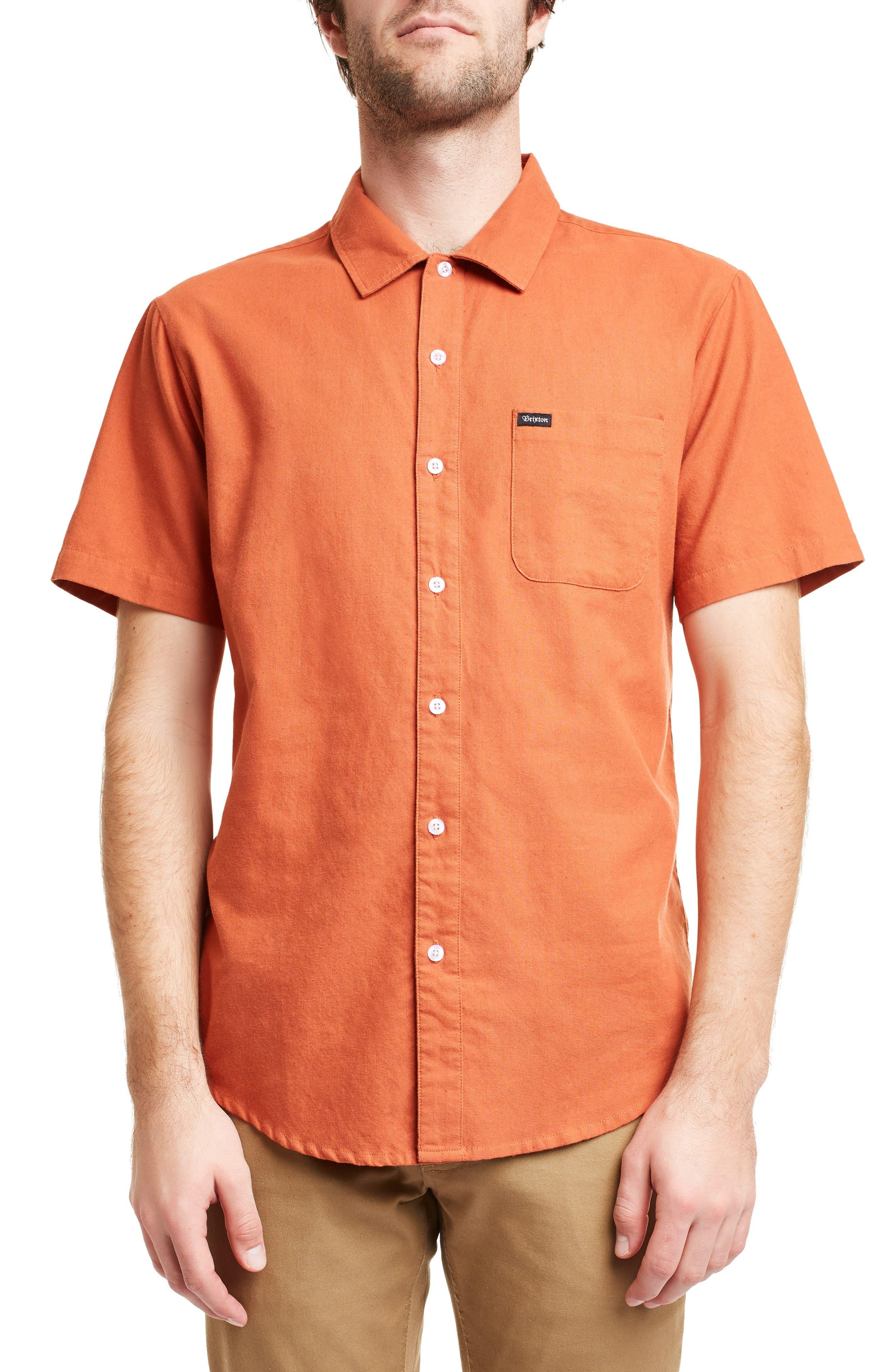 ,                             Charter Oxford Woven Shirt,                             Main thumbnail 5, color,                             800