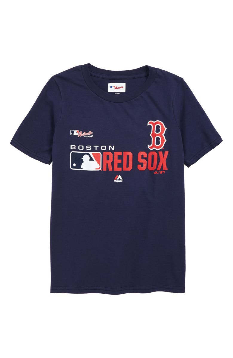 MAJESTIC MLB Boston Red Sox Undefeated T-Shirt, Main, color, 400