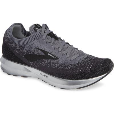 Brooks Levitate 2 Running Shoe, 5 - Black