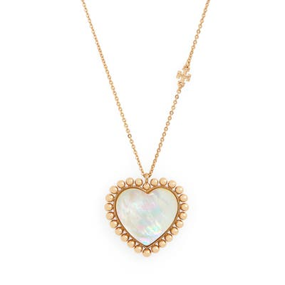 Tory Burch Heart Pendant Necklace