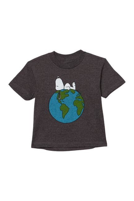 Image of JEM Top Of The World Snoopy T-Shirt