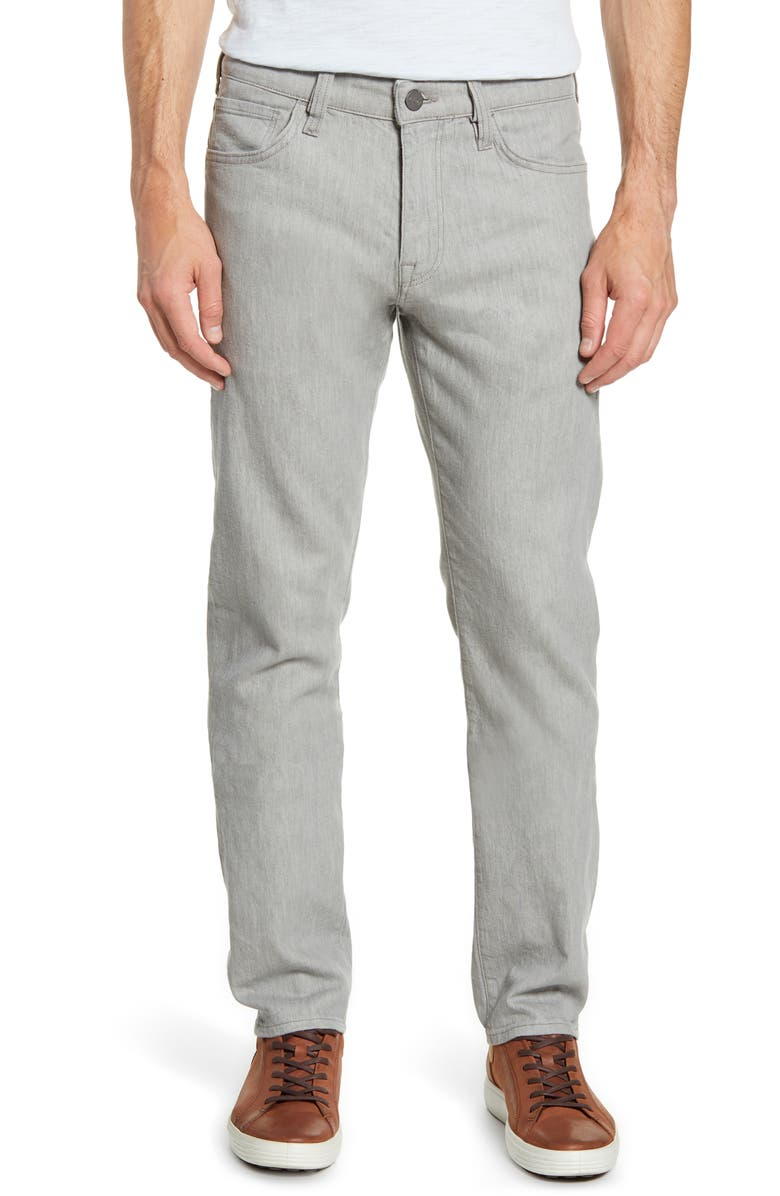 34 HERITAGE Courage Straight Leg Jeans, Main, color, GREY LINEN