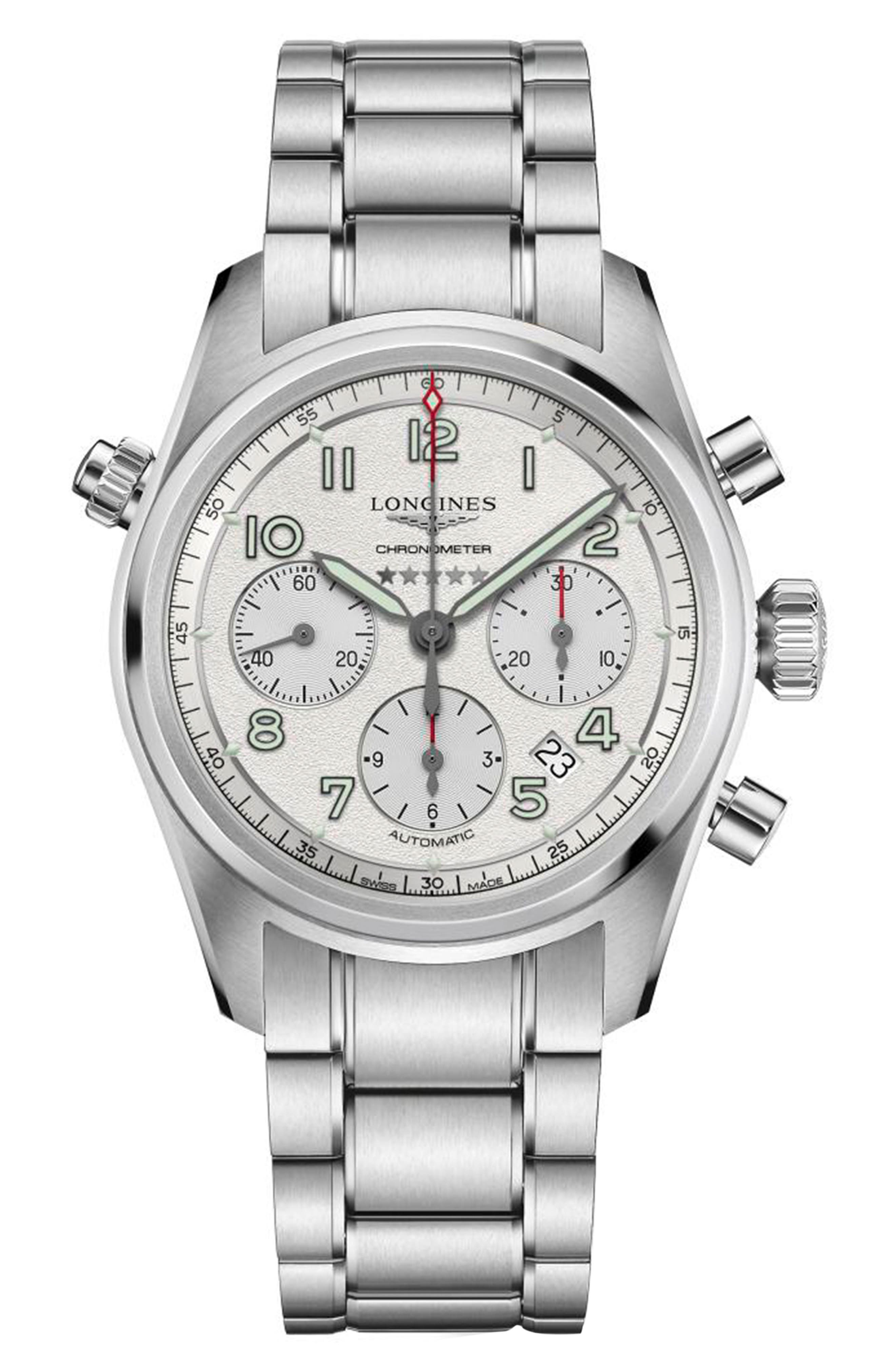 Spirit Automatic Chronograph Bracelet Watch