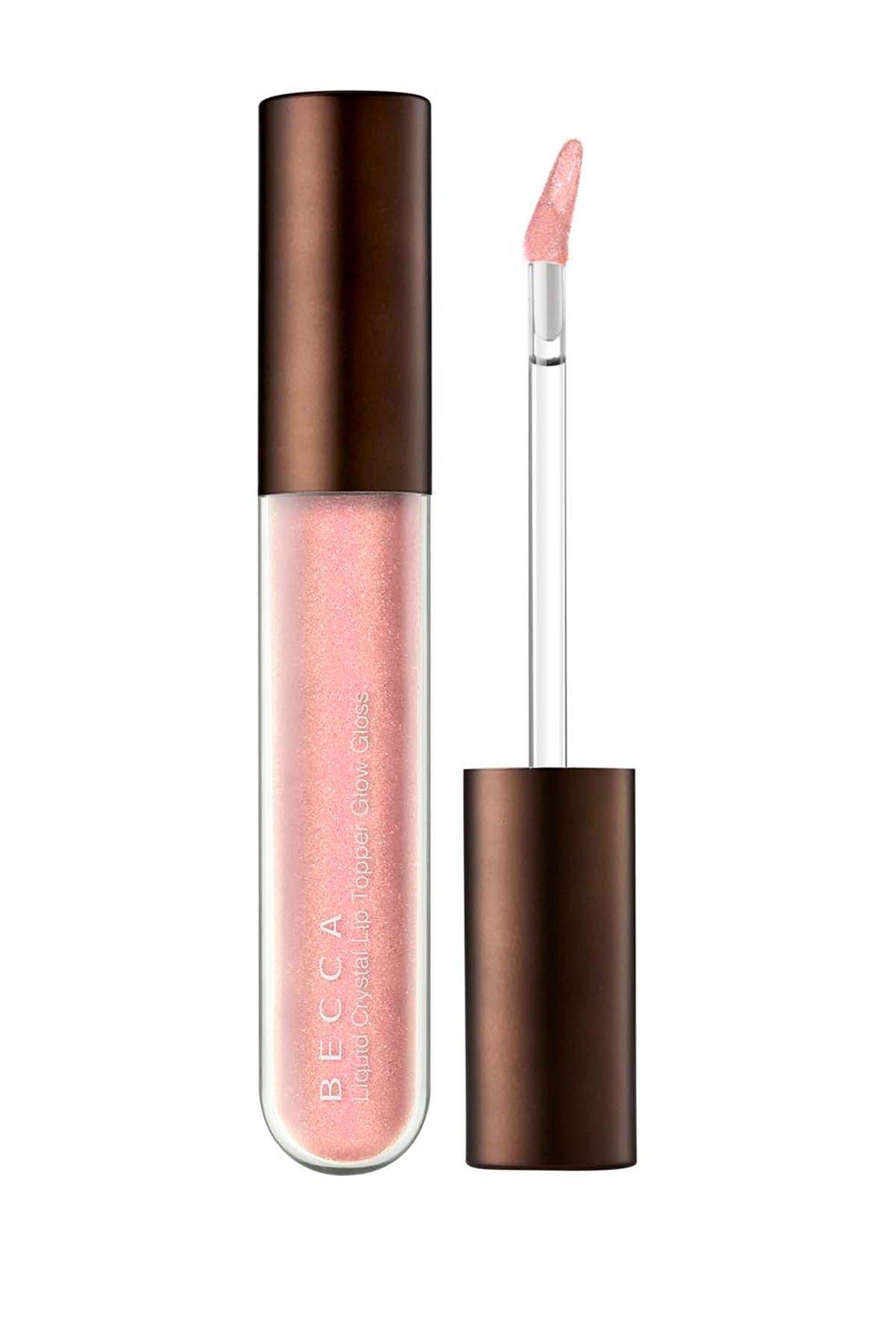 Image of BECCA Cosmetics Liquid Crystal Lip Topper Rose Quartz x Seashell
