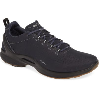 Ecco Biom Fjuel Perforated Sneaker, Blue