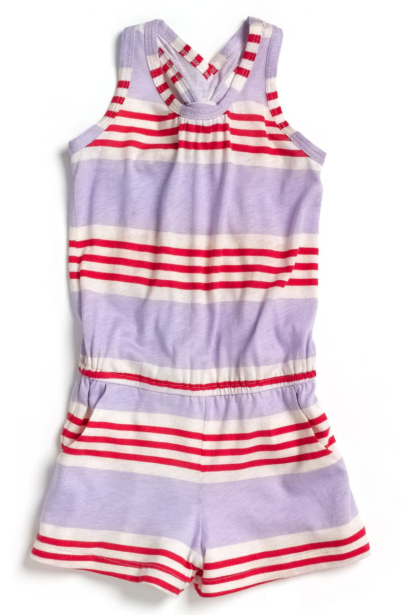 SPLENDID Stripe Romper, Main, color, 500