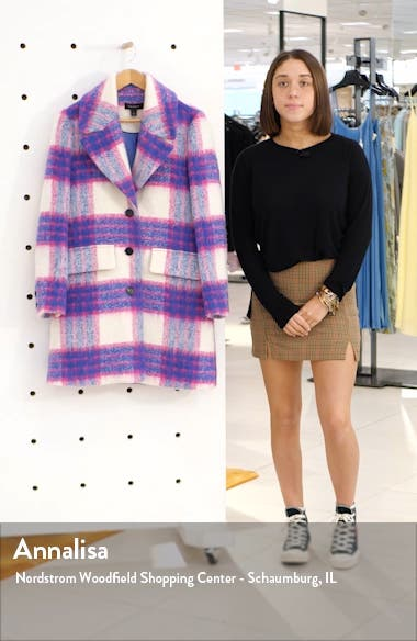 Bold Plaid Coat, sales video thumbnail