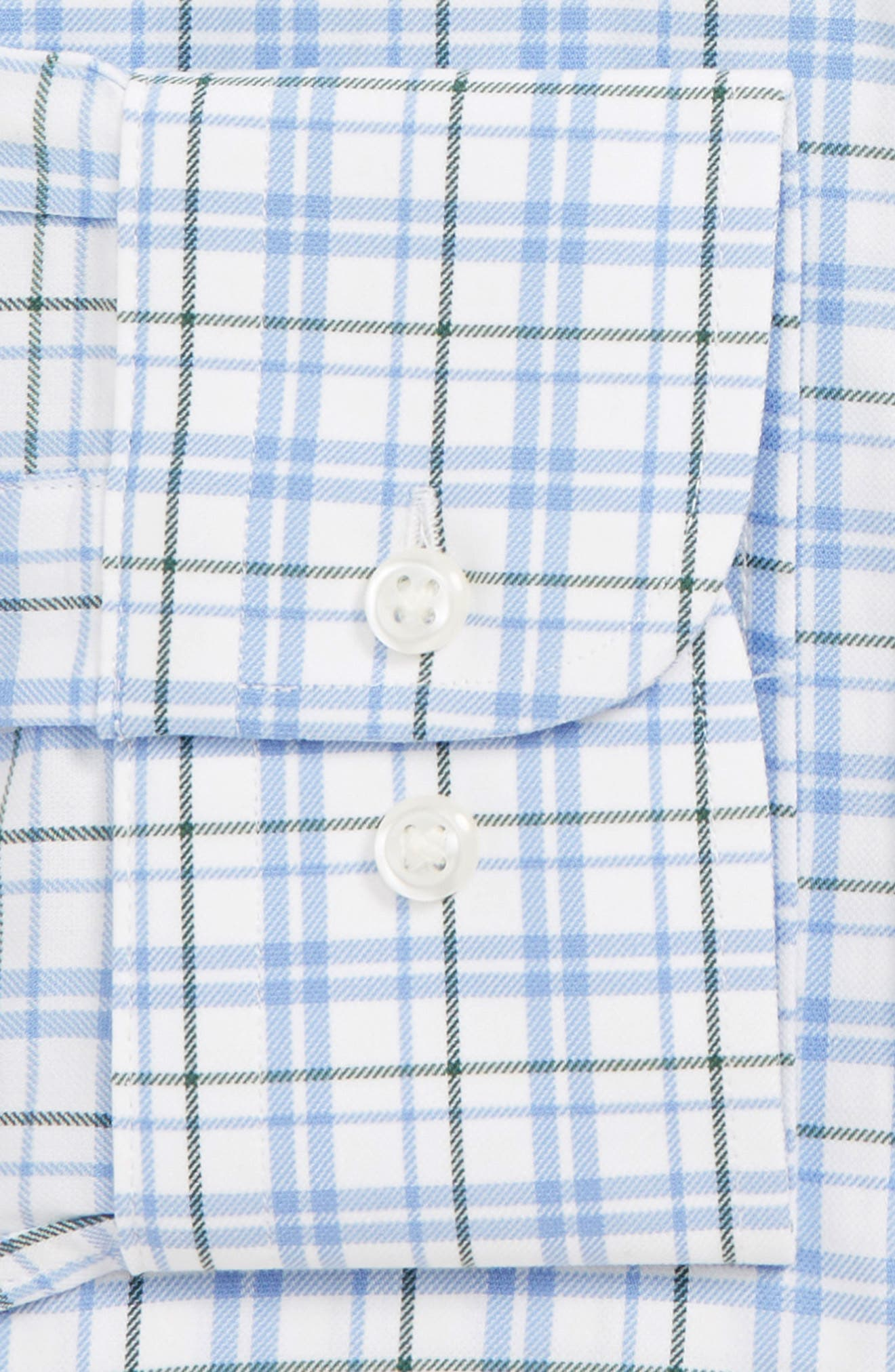 ,                             Tech-Smart Traditional Fit Check Stretch Dress Shirt,                             Alternate thumbnail 2, color,                             301