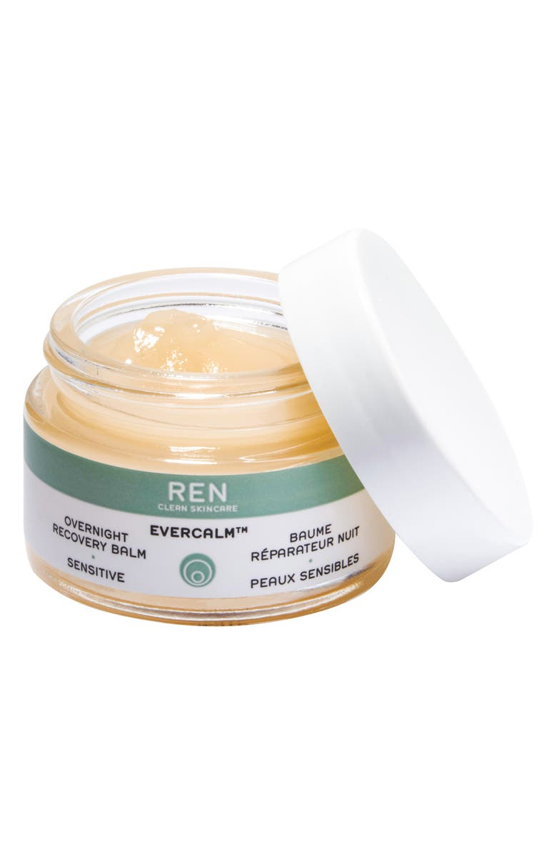 REN CLEAN SKINCARE SPACE.NK.apothecary REN Evercalm<sup>™</sup> Overnight Recovery Balm, Main, color, 000