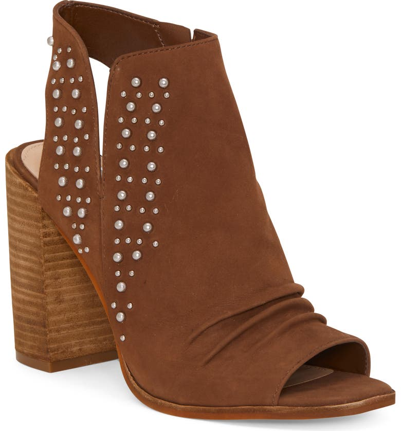 VINCE CAMUTO Machinie Sandal, Main, color, BROWN MOSS SUEDE