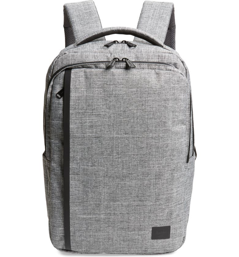 HERSCHEL SUPPLY CO. Small Travel Daypack, Main, color, RAVEN CROSSHATCH