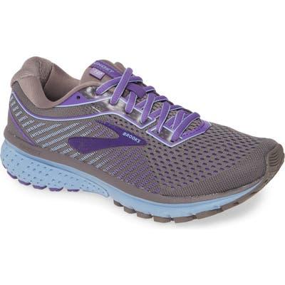 Brooks Ghost 12 Running Shoe B - Grey