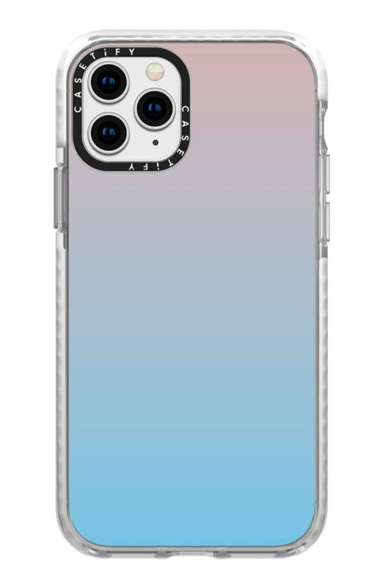 CASETIFY Blue Pink Gradient iPhone 11 Pro Phone Case, Main, color, 650