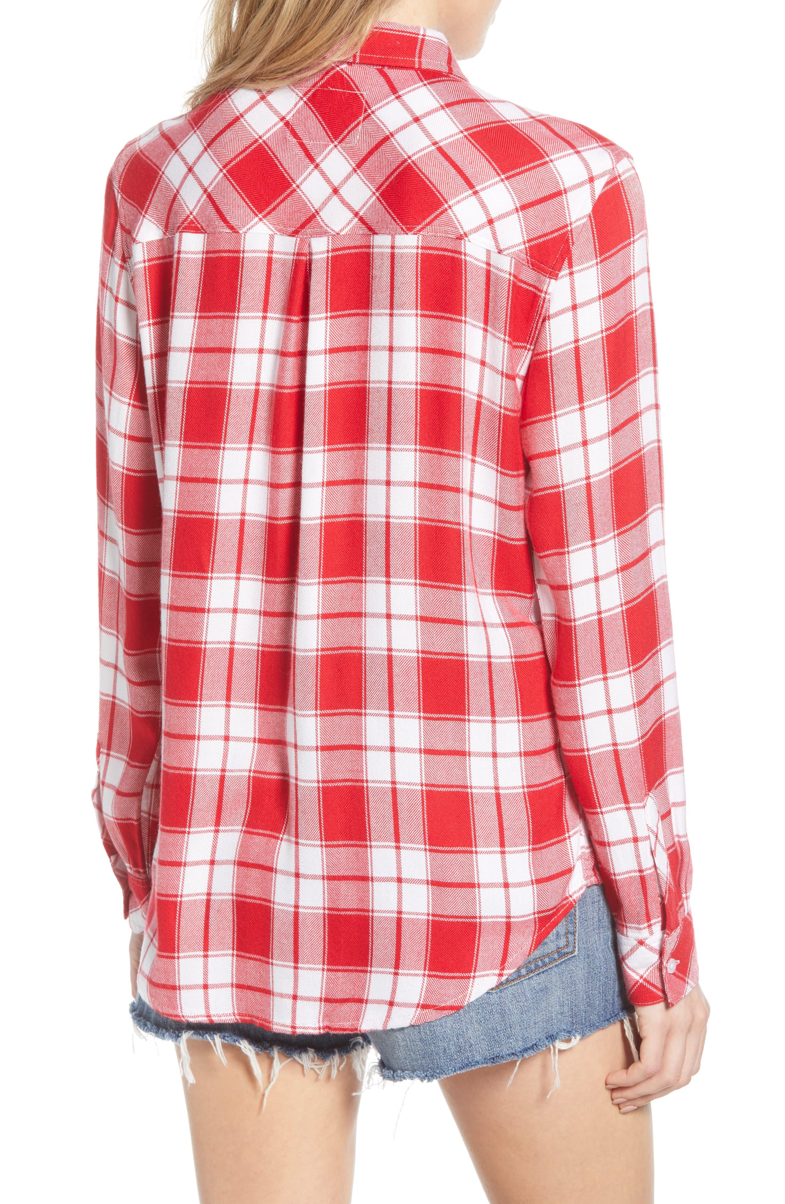 ,                             Hunter Plaid Shirt,                             Alternate thumbnail 181, color,                             609