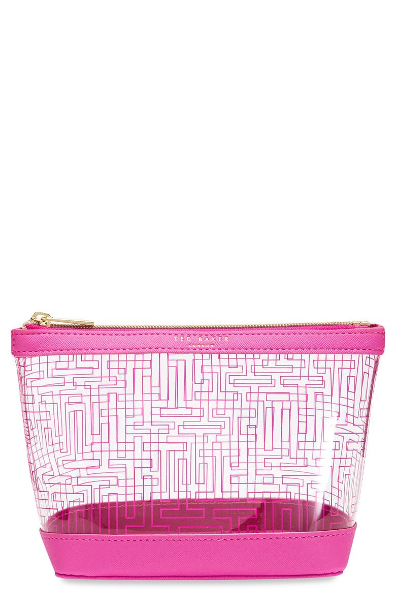 TED BAKER LONDON Anke Cosmetic Bag, Main, color, 650