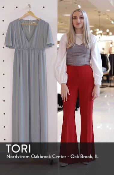 Emily Chiffon A-Line Gown, sales video thumbnail