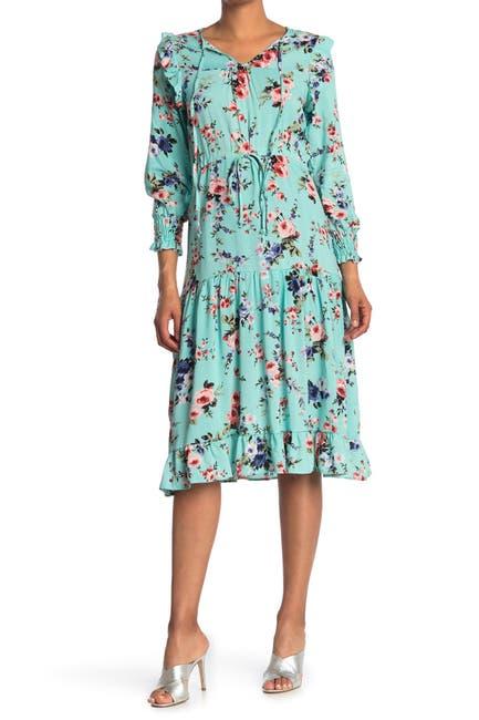 Image of Velvet Torch Flowy Midi Dress