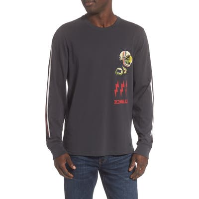 Stance Long Sleeve Graphic T-Shirt, Black
