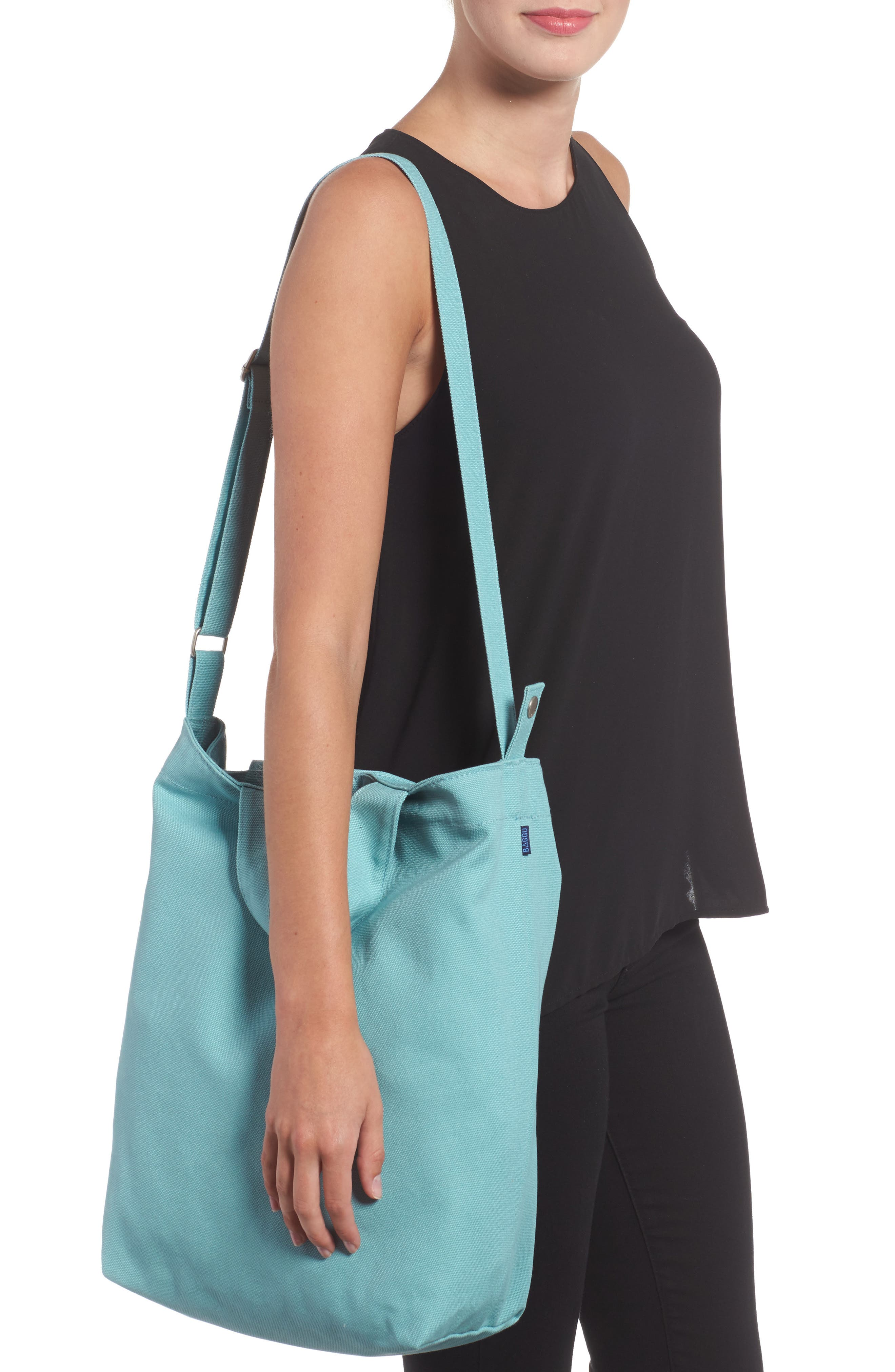 ,                             'Duck Bag' Canvas Tote,                             Alternate thumbnail 72, color,                             402