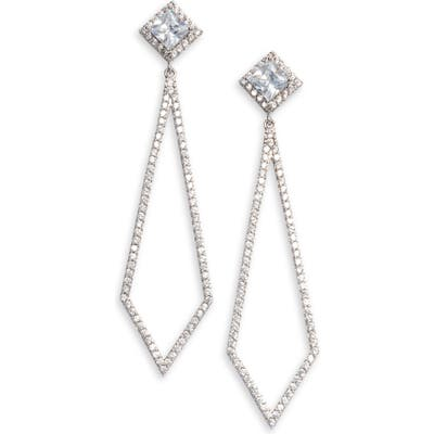 Nordstrom Pave Drop Earrings