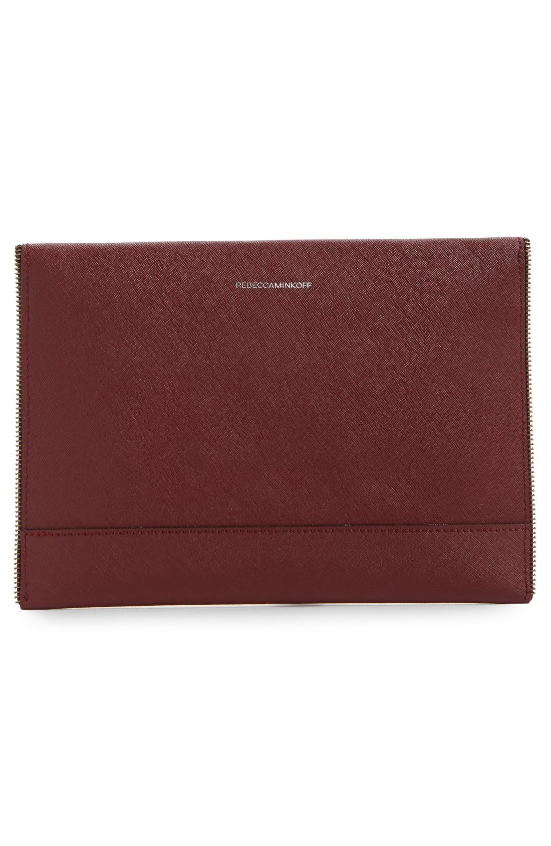 ,                             Leo Envelope Clutch,                             Alternate thumbnail 317, color,                             930
