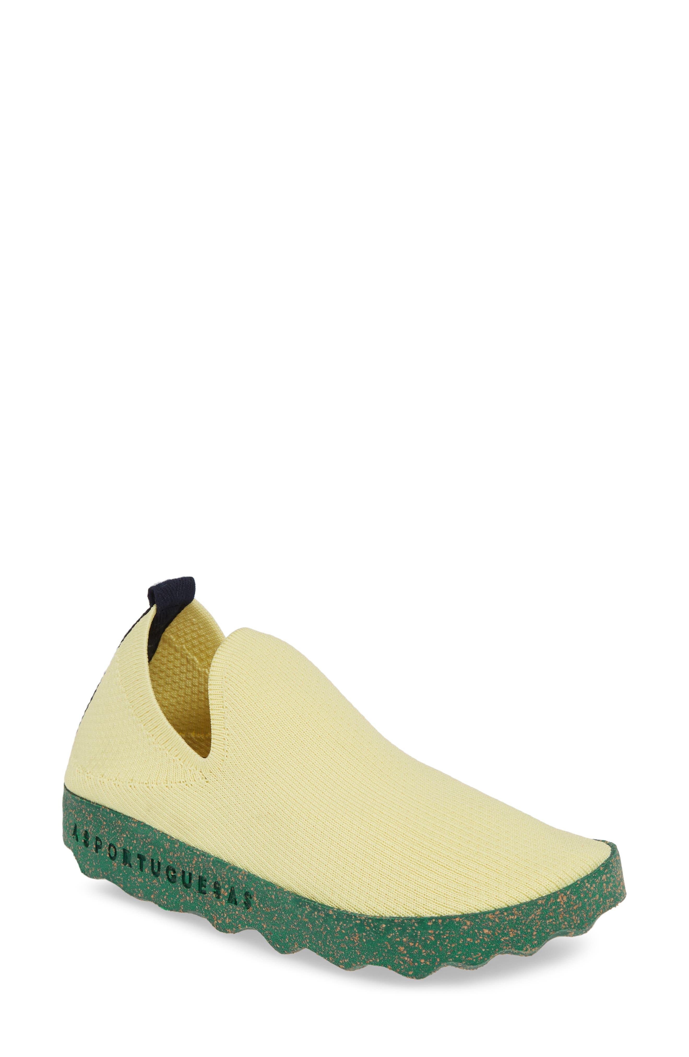 Asportuguesas By Fly London Care Sneaker, Yellow