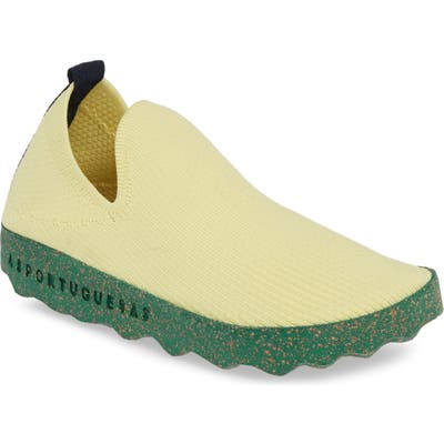 Asportuguesas By Fly London Care Sneaker, Yellow