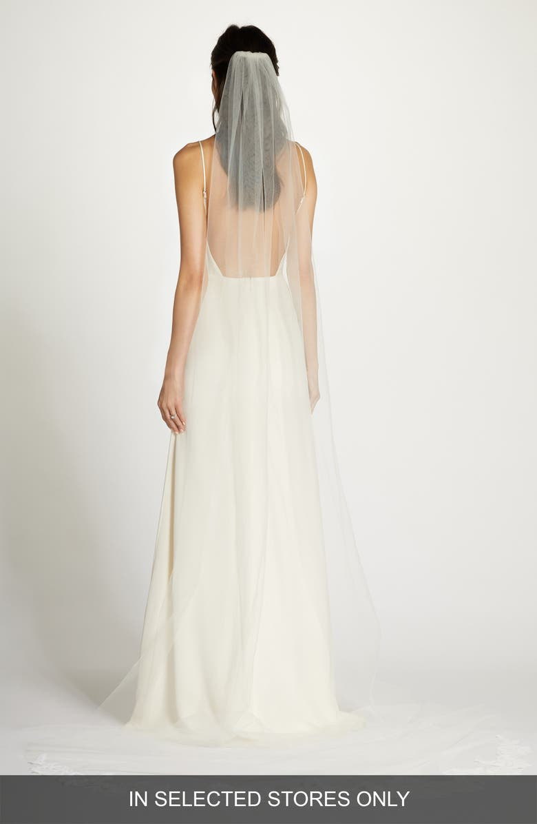 BLUSH BY HAYLEY PAIGE West Chapel Veil, Main, color, IVORY