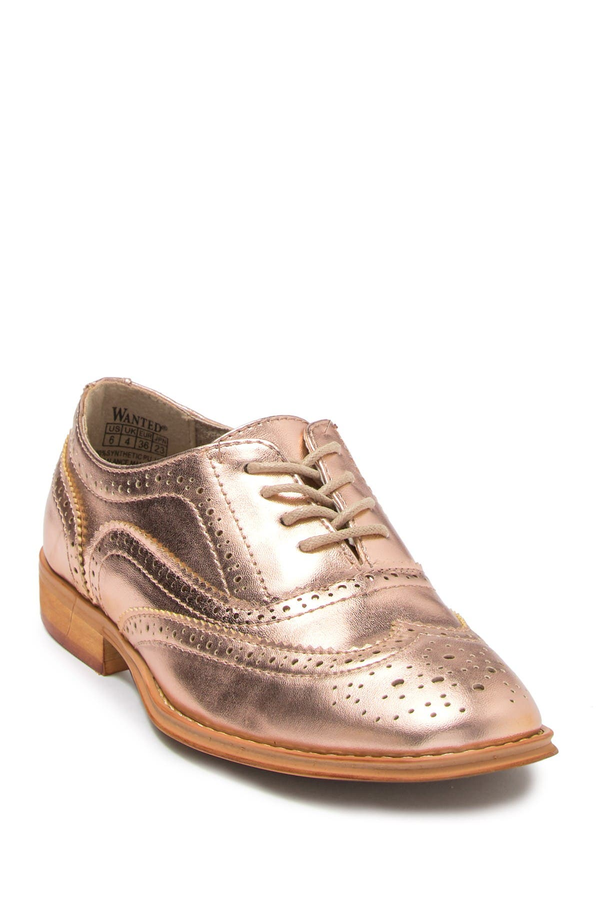 Image of Wanted Babe Wingtip Oxford
