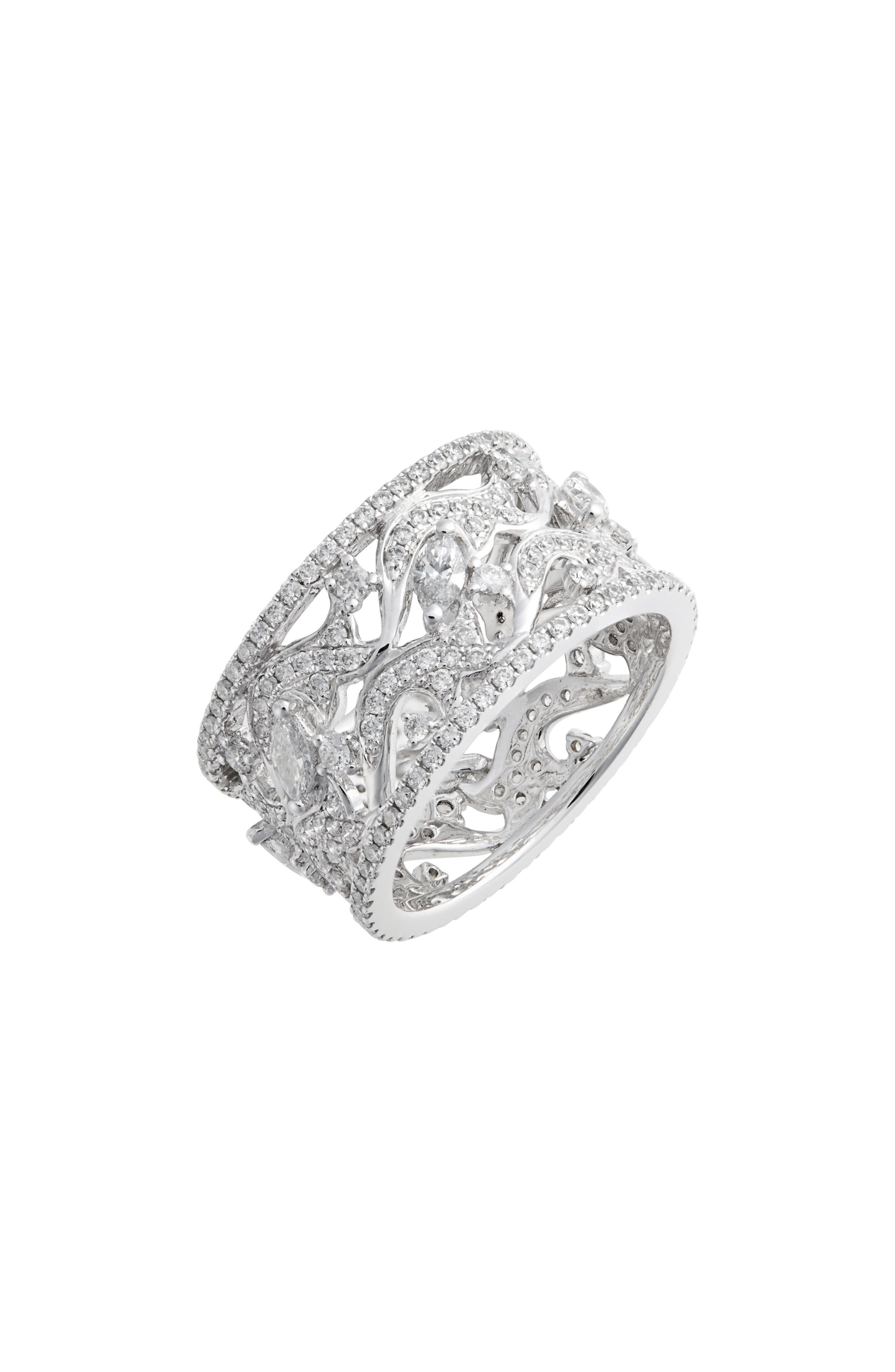 Luxe Wide Diamond Ring (Nordstrom Exclusive)