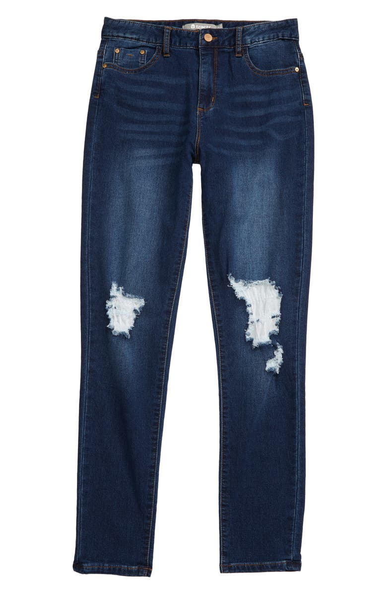 TRACTR High Waist Skinny Jeans, Main, color, 407