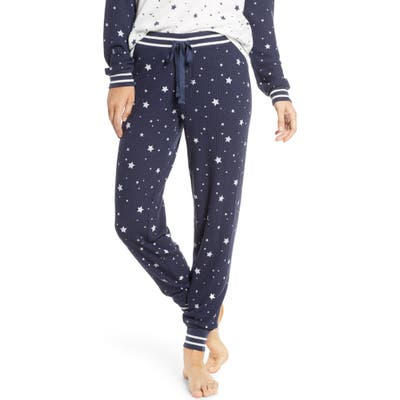 Pj Salvage Dream Mix Thermal Pajama Pants, Blue