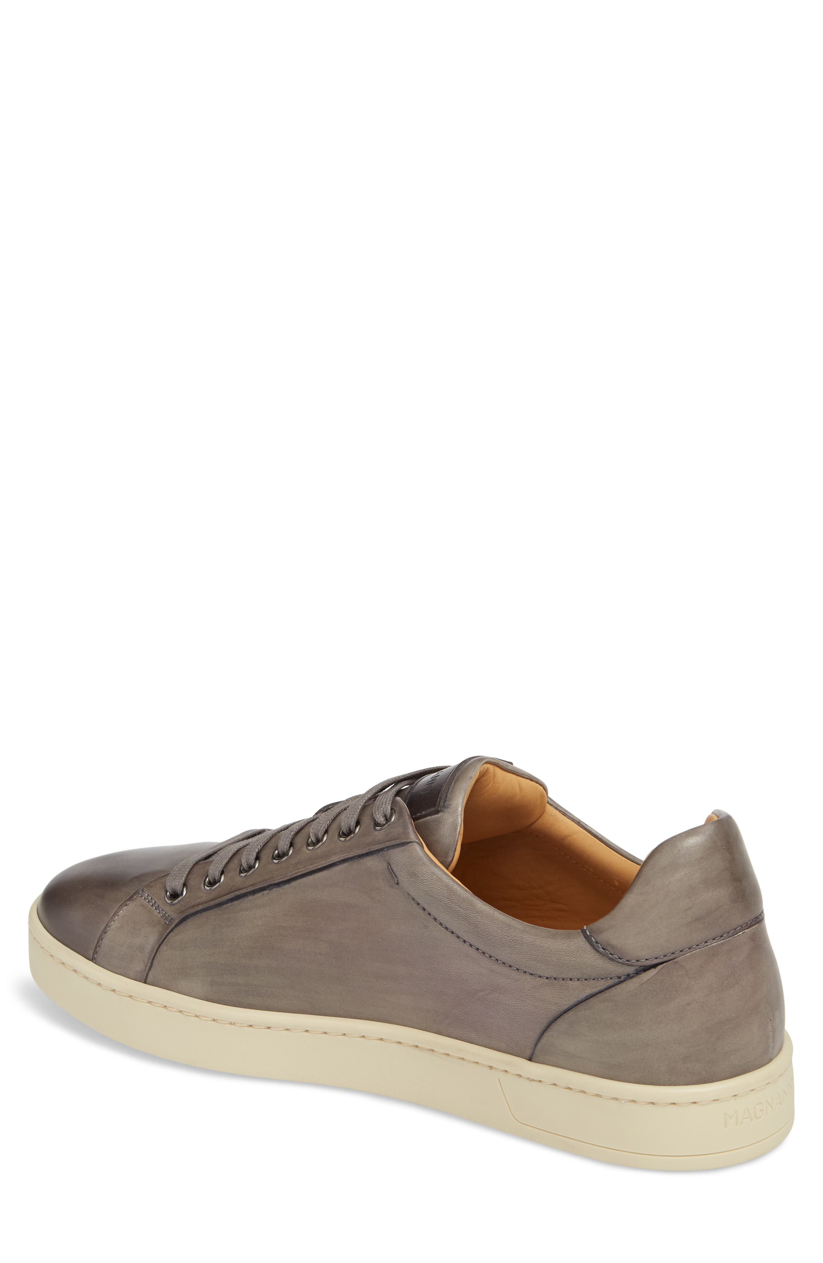 ,                             Elonso Low Top Sneaker,                             Alternate thumbnail 2, color,                             GREY LEATHER