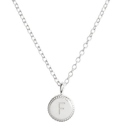 Anna Beck Initial Pendant Necklace