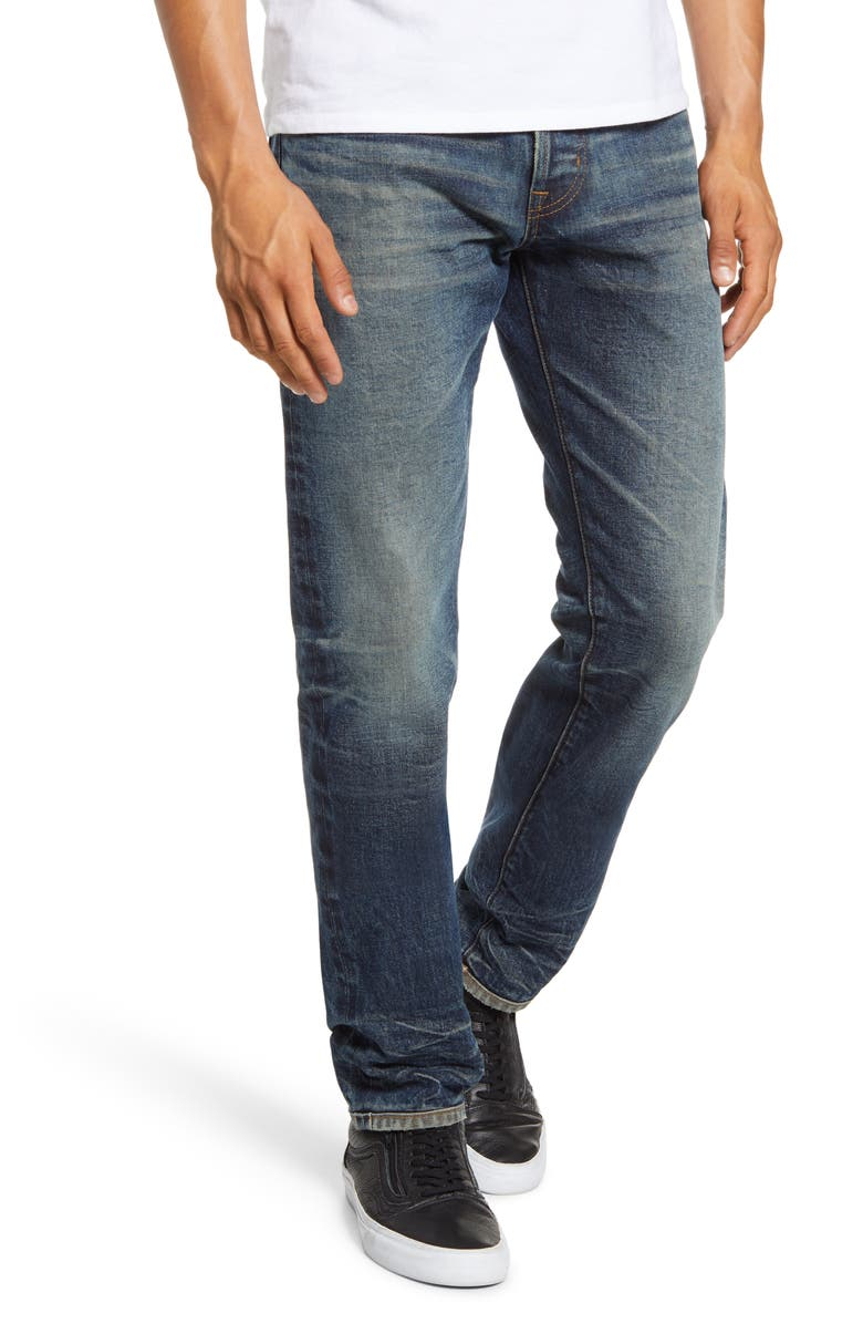 AG Dylan Skinny Fit Jeans, Main, color, 12 YEARS DRIVER