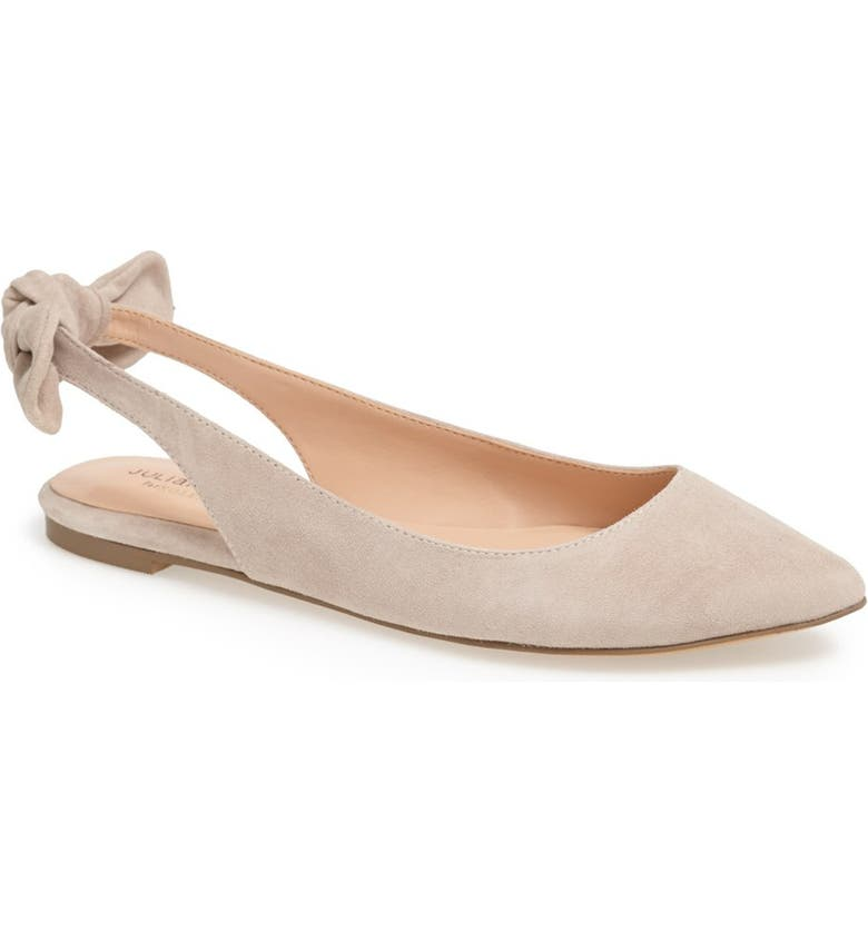 SOLE SOCIETY 'Morganne' Suede Flat, Main, color, 270