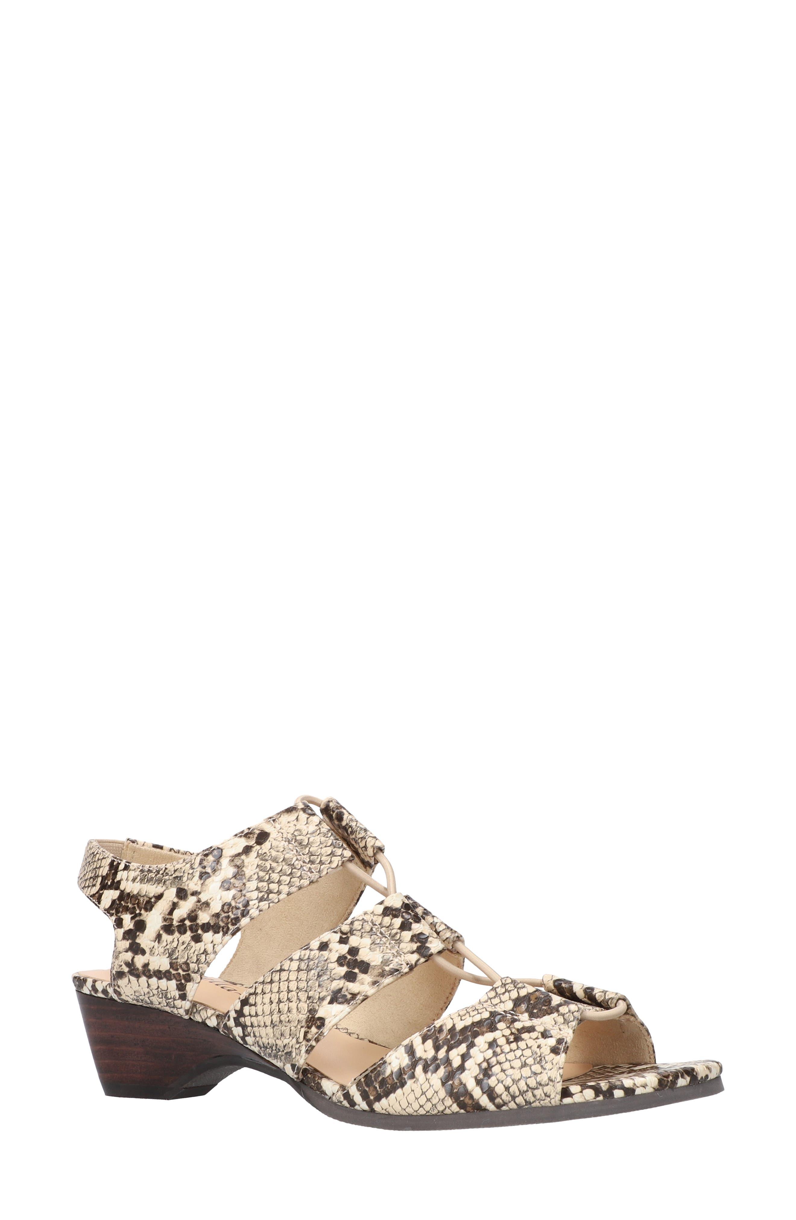 Suzette Strappy Sandal