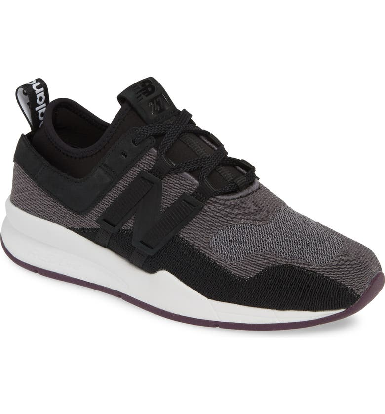 NEW BALANCE 247 Sneaker, Main, color, BLACK