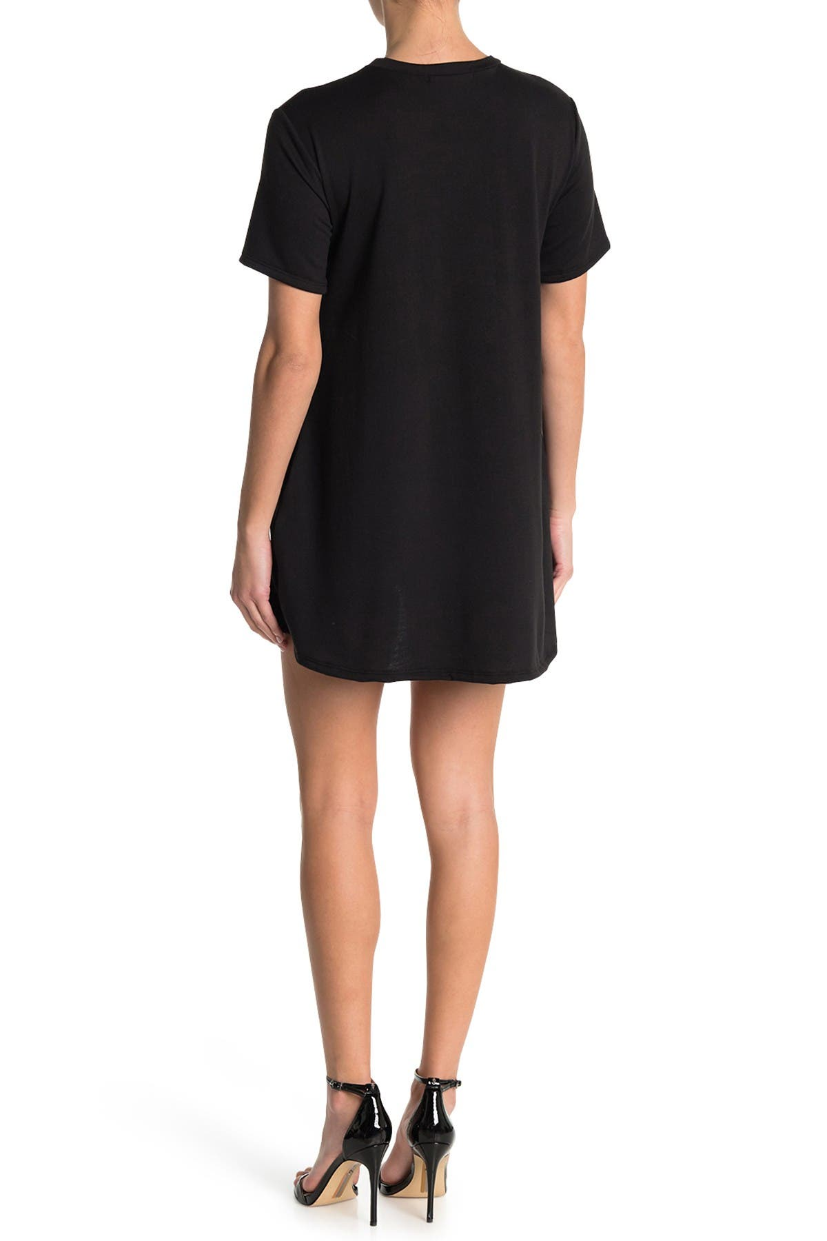 Image of Velvet Torch Pocket Skater Dress