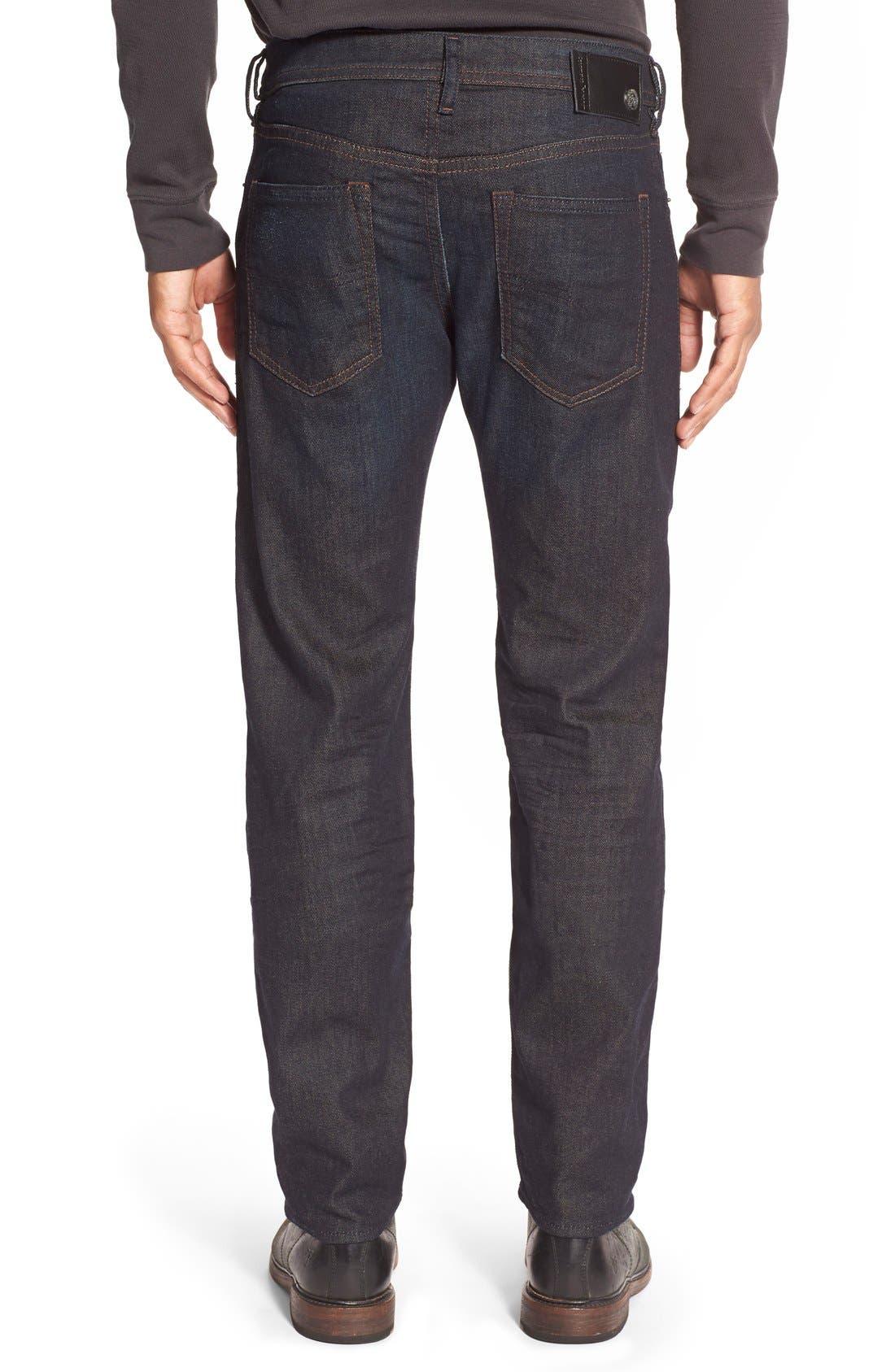 ,                             'Buster' Slim Straight Leg Jeans,                             Alternate thumbnail 2, color,                             400