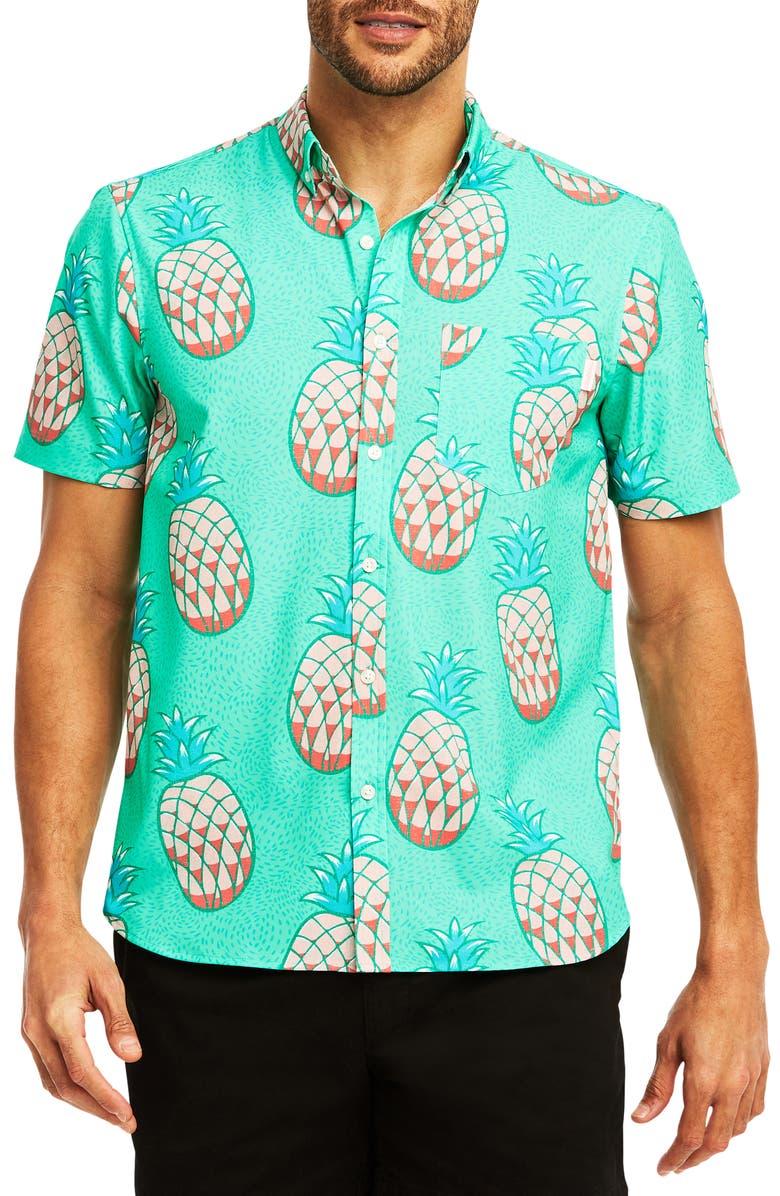 CHUBBIES The Hala Kahiki Woven Shirt, Main, color, 440